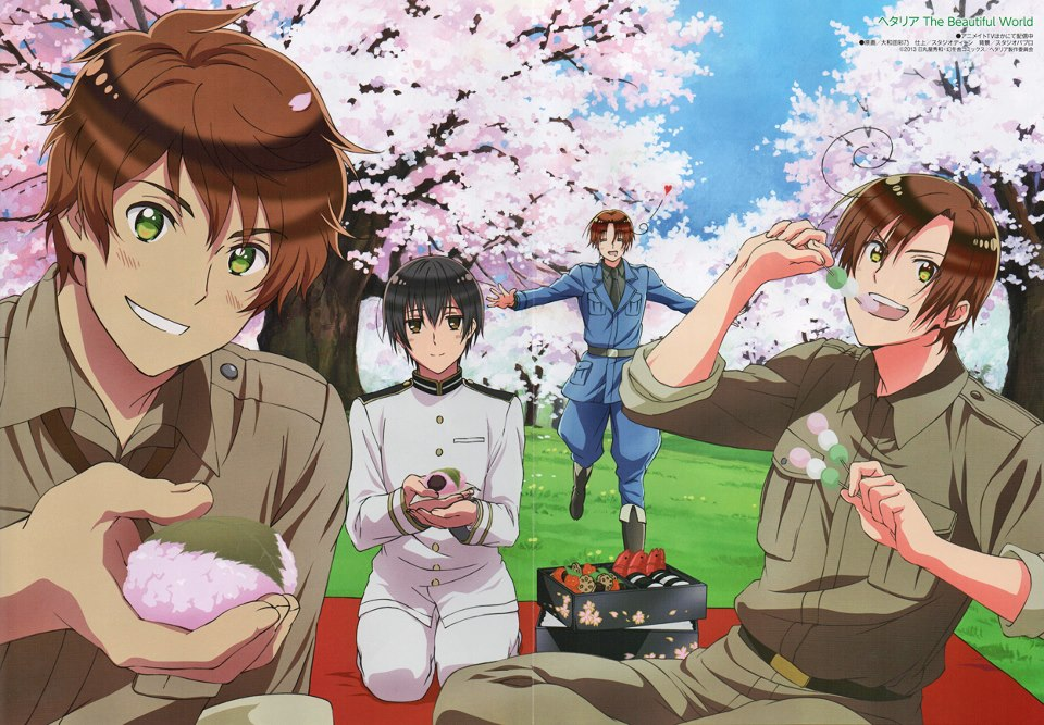 Hetalia, The beautiful world