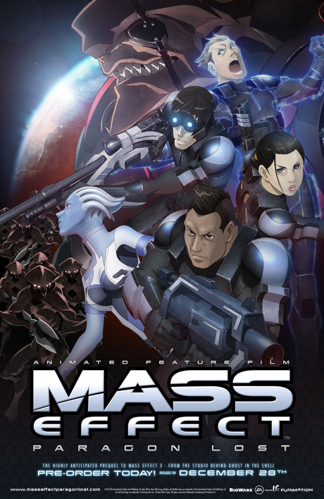 Mass Effect Lost Paragon