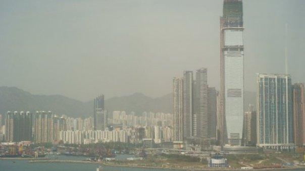 Hong Kong, vue du port
