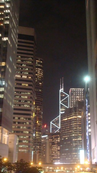 Rabah Fettih, HK by night