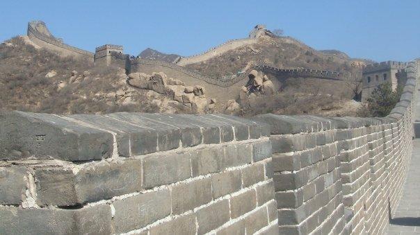 Rabah Fettih, la Grande Muraille de Chine