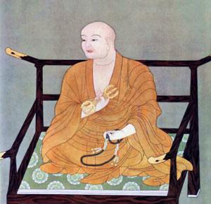 Kūkai (空海), posthumously Kōbō-Daishi (弘法大師, 774–835)