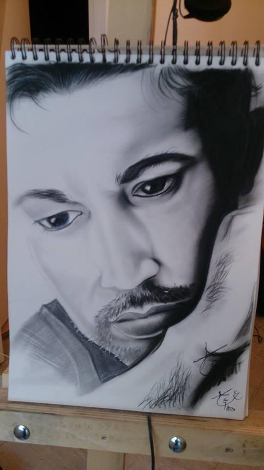 Autoportrait d'Abdsatar Tida