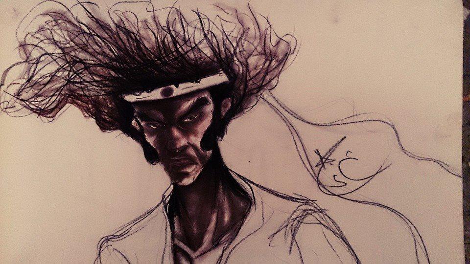 Afro Samurai By Abdsatar Tida