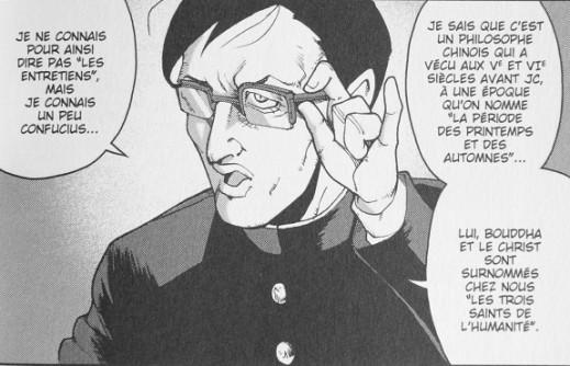 """Extrait du manga """"Les entretiens de Confucius"""", éd Soleil"""
