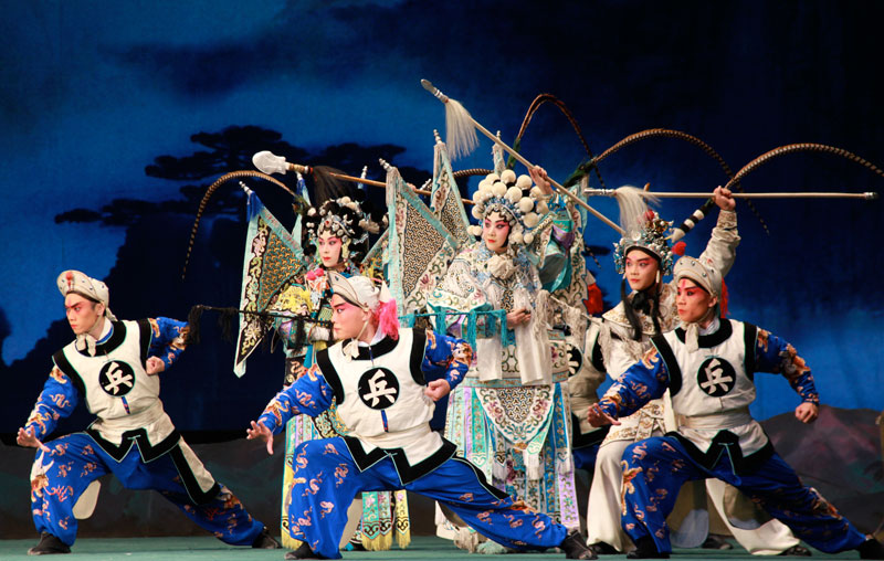 Acrobates de l'Opéra de Pékin