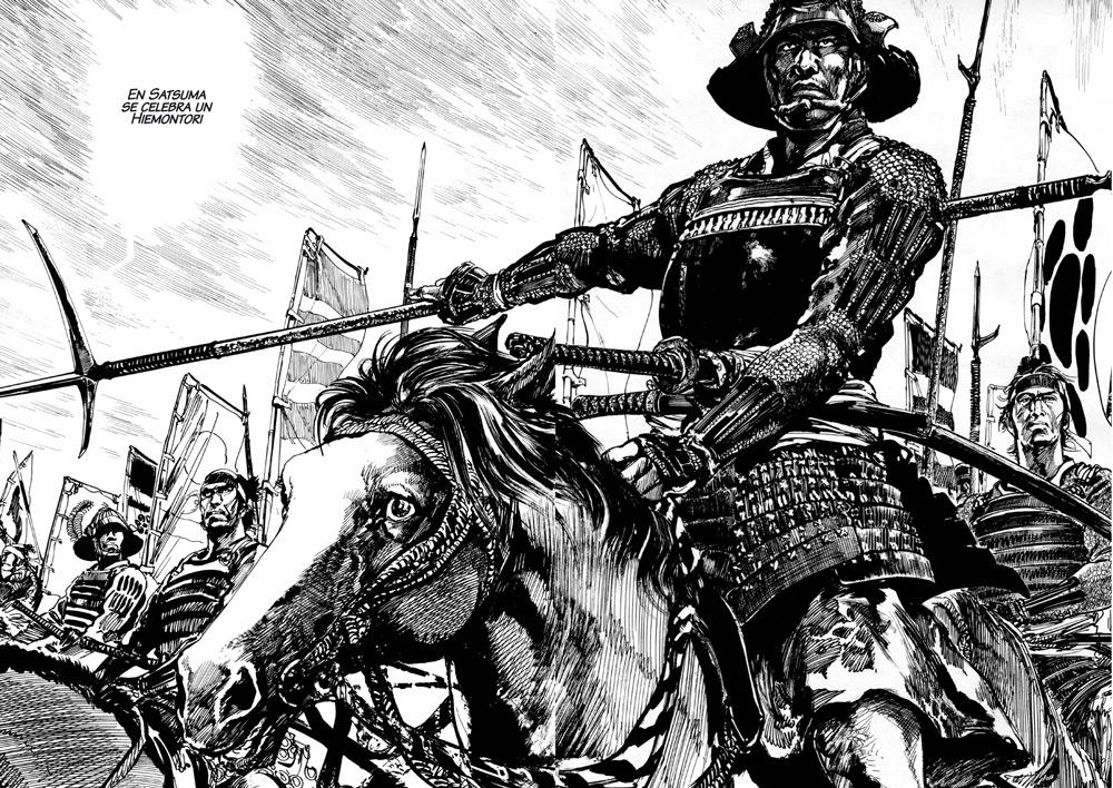 extrait de Satsuma - l'honneur de ses samouraïs, de Hiroshi Hirata