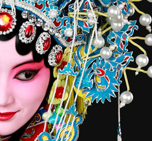 personnage d'opéra chinois
