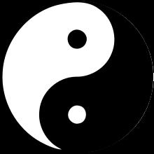 Yin et Yang, symbole