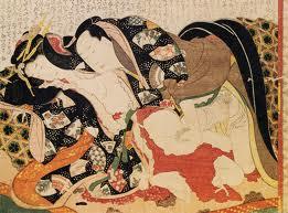 Hokusai (estampe issue d'une collection privée)