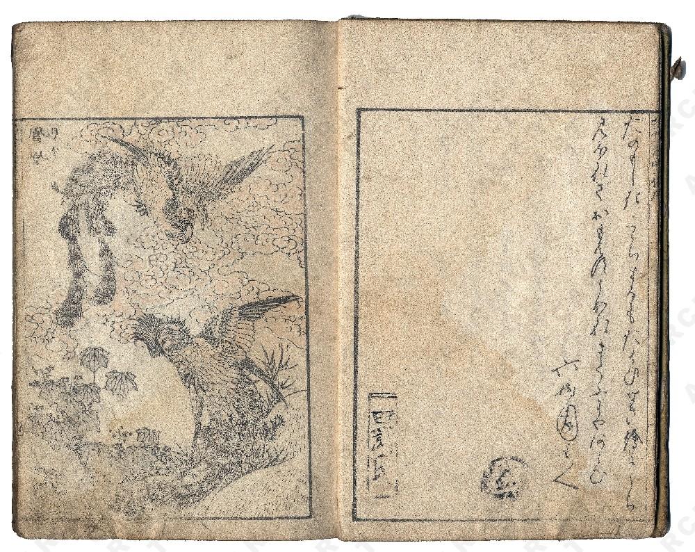 hokusai oiseau