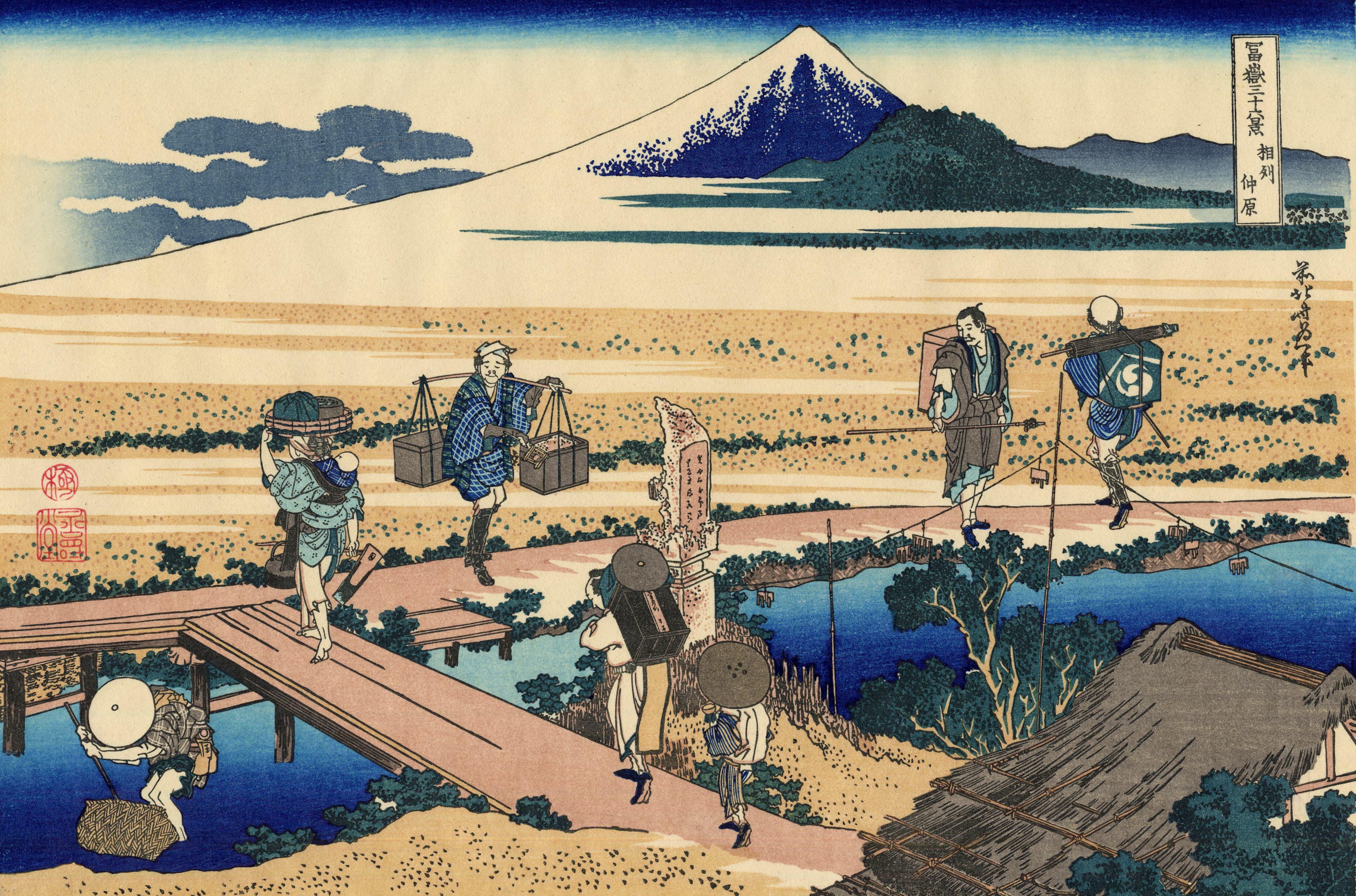 hokusai_manga_wrestling_la55rg444e